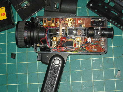 Video Camera - Electronic Guts