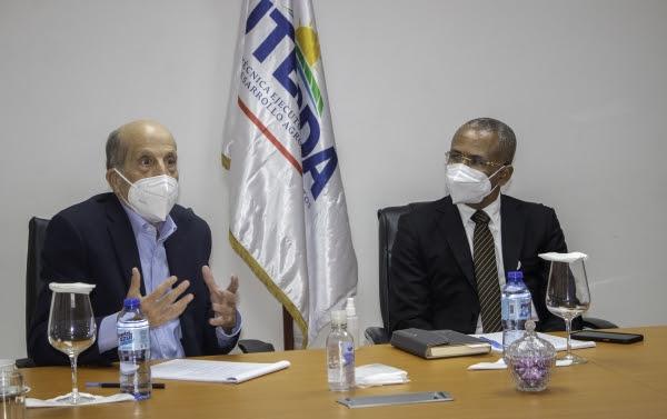 Nuestro director ejecutivo, Eliferbo Herasme, recibimos al Dr. Max Puig, Vicepresidente Ejecut.ivo del Consejo Nacional para el Cambio Climático y Mecanismo de Desarrollo Limpio