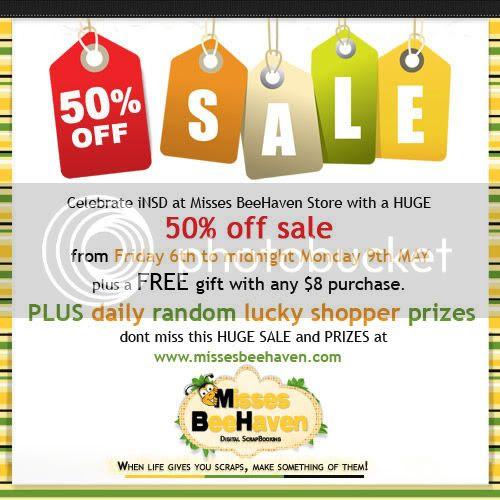 inSD Sale 50% off