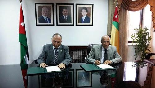 Heads of Hebron University and University of Jordan sign agreement in Amman