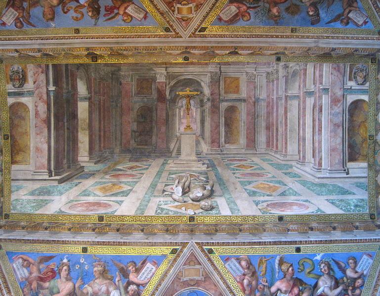 Fil: 0 Triomphe du christianisme - Sala di Costantino - Vatican.JPG