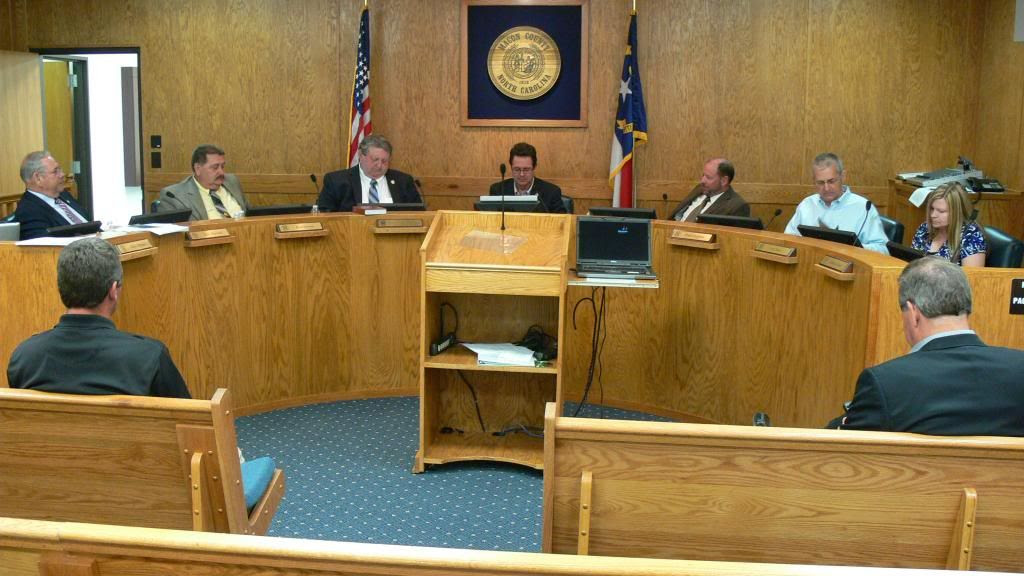 The Macon County Board of Commissioners