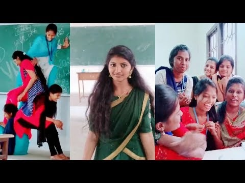 Tamil College Students Tik Tok Videos Collection – 1
