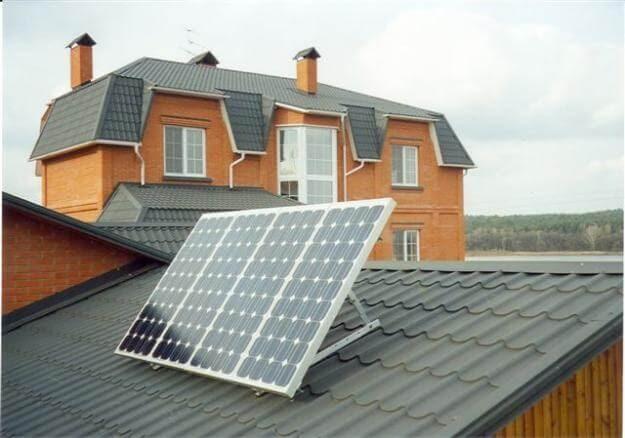 Как установить солнечные батареи для дома: видео и советы