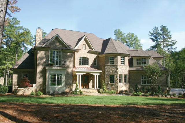 Beautiful Homes  Traditional  Exterior  Raleigh  by Planworx Architecture, P.A.