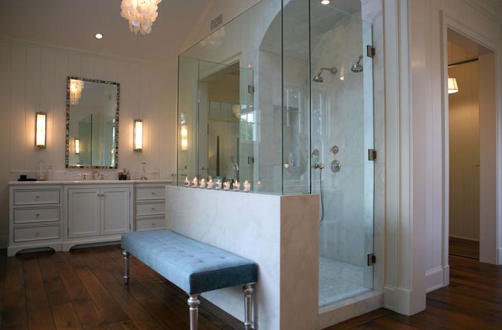 Master Bathroom Shower Ideas - Transitional - bathroom - Giannetti ...