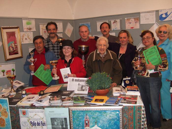 Foto di Gruppo al 6° ritrovo al Circolo Artistico di acr accademia