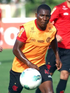 Amaral, treino do Flamengo (Foto: Bernardo Monteiro / VipComm)
