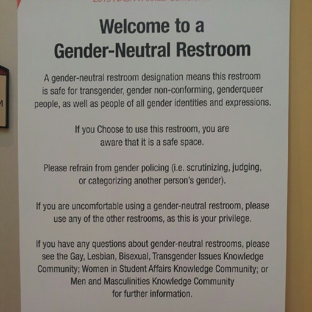 Lemon Harangue Pie Unisex Gender Neutral Restroom Sign