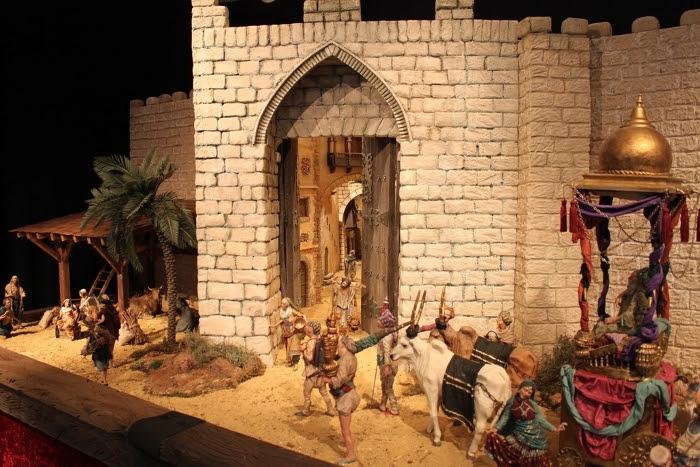 El Centro de Artesanía se suma a la ruta de Belenes de Valencia con la escena 'Cabalgata de Reyes'