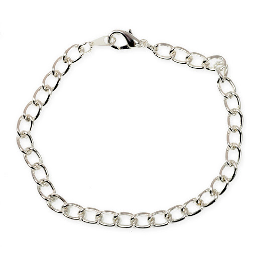 Christopher Wrestling Charm On A 7 1//2 Inch Round Double Loop Bangle Bracelet St