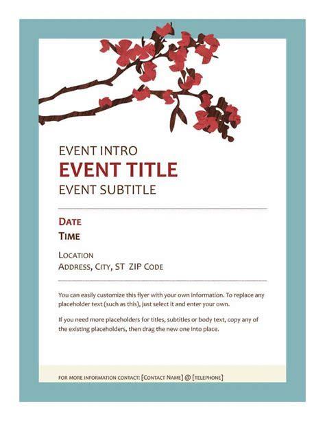 40  Free Event Program Templates / Designs   Template Archive