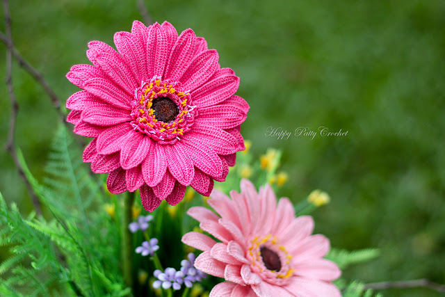 Gerbera Daisy par Happy Patty Crochet