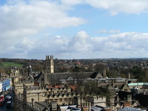 Skyline of Oxford