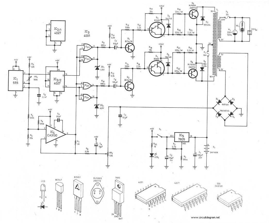 1000 Watt Inverter Circuit Diagrams Wiring Library
