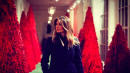 Melania Trump Thinks White House's Red Christmas Trees 'Look Fantastic'