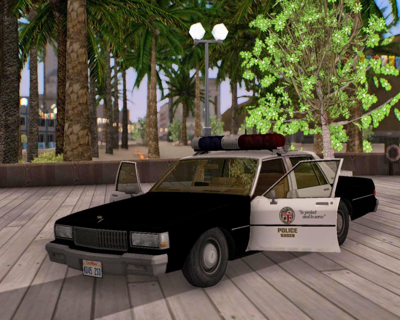 GTA SA Chevy Caprice Police