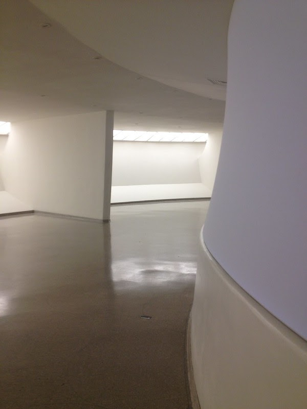guggenheim with turrell in the void