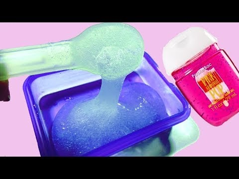 How to Make Slime with Hand Sanitizer Without Putting It in the Freezer