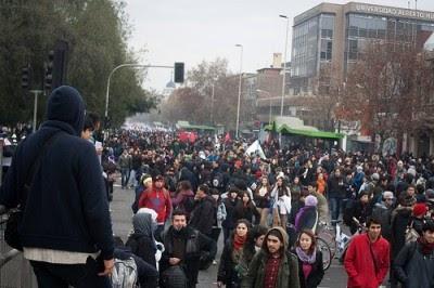 Chile: novos protestos pela educação gratuita