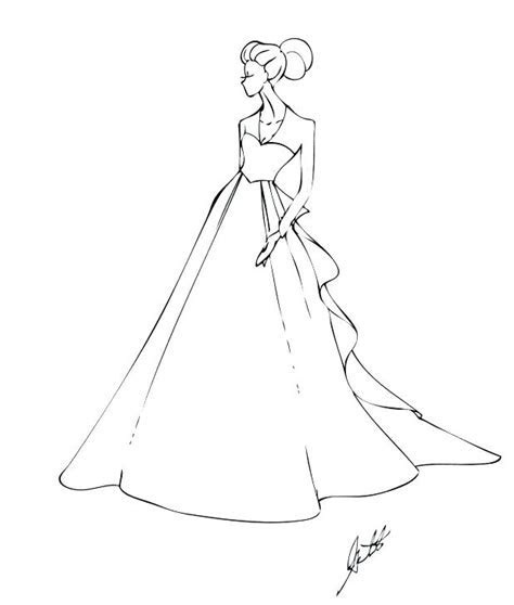 Unusual Inspiration Ideas Wedding Dress Coloring Pages