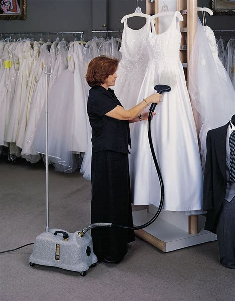 Fabric Steamer for a Wedding Dress   Steamer Specialists