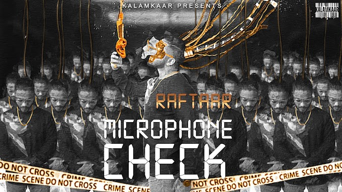 RAFTAAR - MICROPHONE CHECK Lyrics | BAR'ISH EP - 8DDARK Lyrics