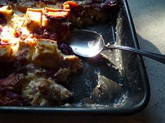 fall plum pudding
