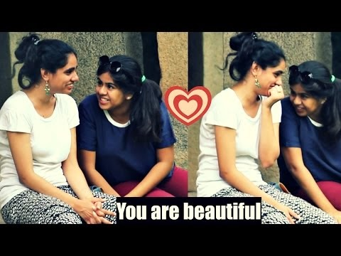 """YOU ARE BEAUTIFUL"" | Girls Adorable Reaction | AVRprankTV"