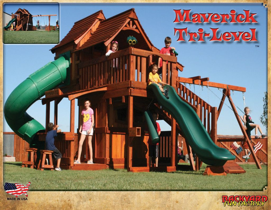 Backyard play structures for older kids