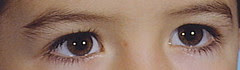 And eyes