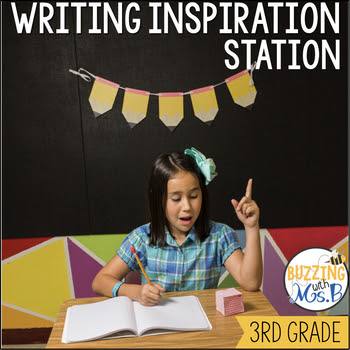 Writing Station Materials: Writing Inspiration Station!