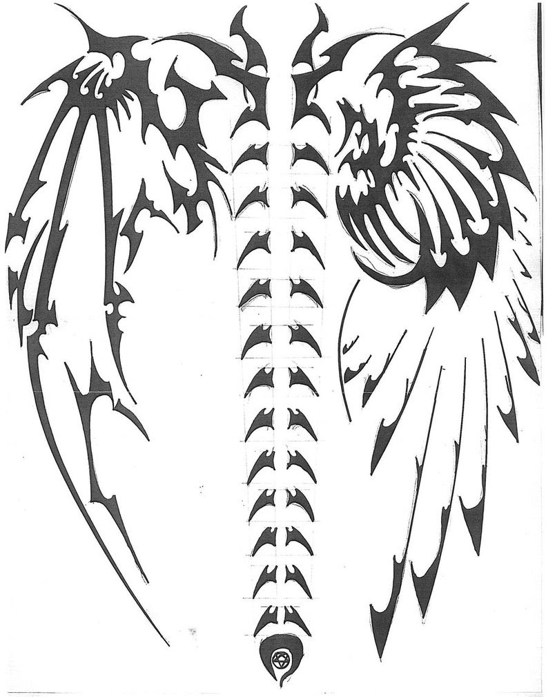 Tattoo Tribal Drawing At Getdrawingscom Free For Personal Use