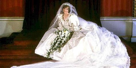 Princess Diana's Wedding Dress Handed Down To William And