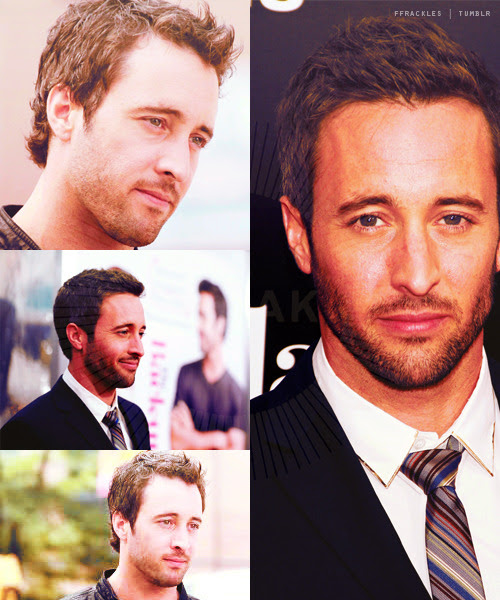 ffrackles:  Favorite person memeAnon asked A → Alex O'Loughlin