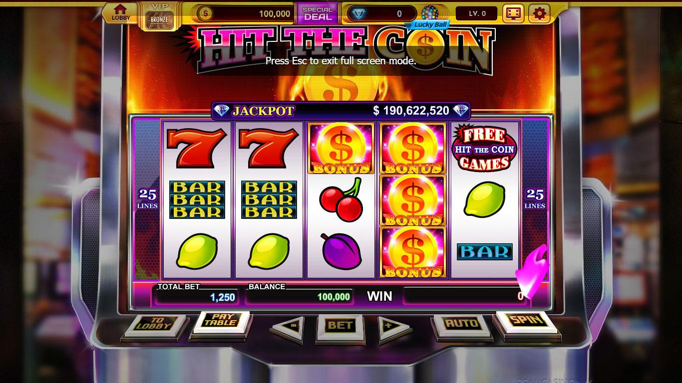 Slot play for real money