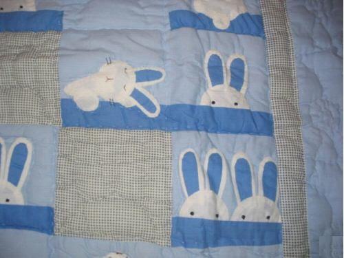 BUNNYRABBIT.com HOME DECOR Afghan, rabbit blanket, rabbit afghan
