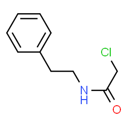 Image result for 2-chloro-N-(2-phenylethyl)acetamide