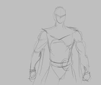 concept, drawing, sketch, how to, tutorial, watchmen, comics, superhero, movies nite owl, mask, jupiter, allen moore, Doctor Manhattan, Rorschach, Silk Spectre