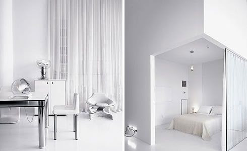 White Home Interior