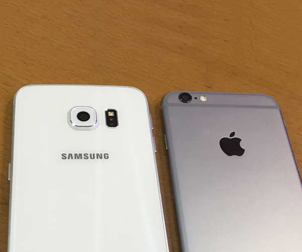 iPhone 6 vs Galaxy S6 edge camera comparison