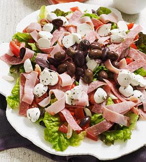 Italian Tomato & Antipasto Salad