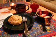 breakfast on October 16