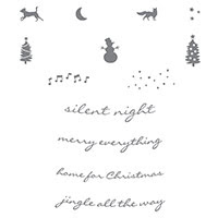 Jingle All the Way Clear-Mount Stamp Set by Stampin' Up!