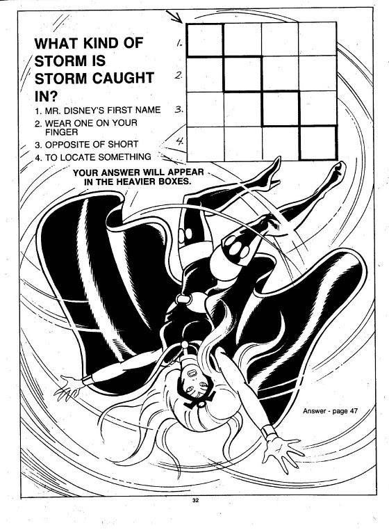 X-Men Super Activity Book00033
