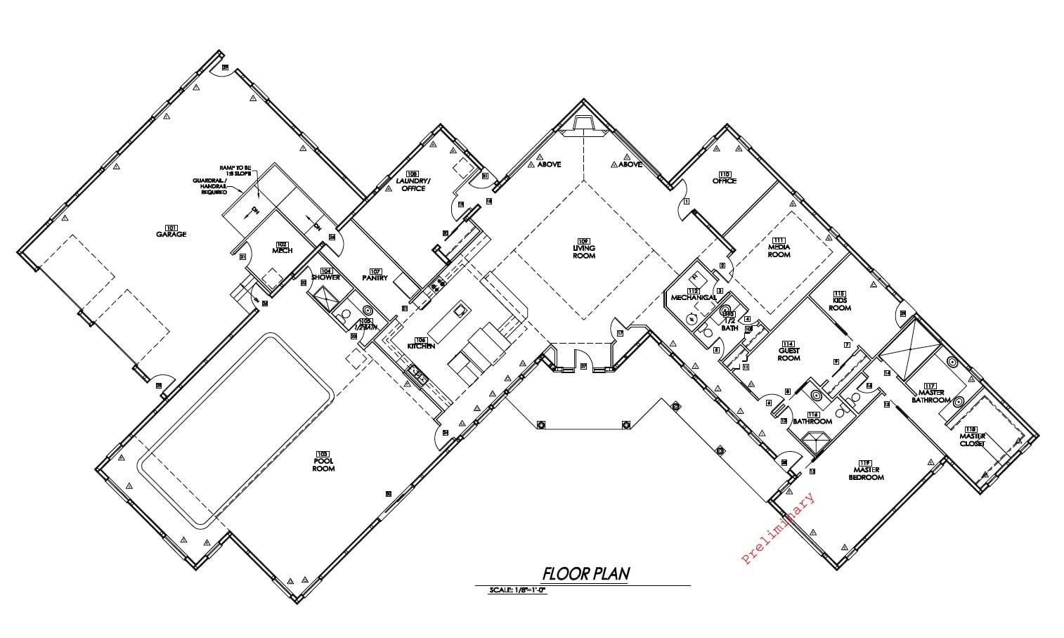 Incredible Metal Building Home w/ Inside Pool! (HQ Plans ...