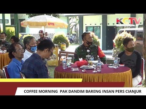 Coffee Morning Pak Dandim Bareng Insan Pers Cianjur