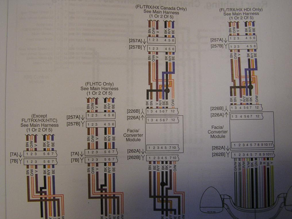 2009 Harley Flhx Wiring Harness Diagram Wiring Diagrams Auto Collection Collection Moskitofree It