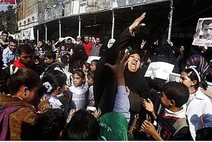 Palestinians in Gaza celebrate Jerusalem synagogue massacre