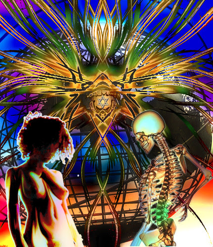 Adam's Bones, Eve's Flesh by centraxis.